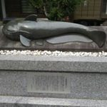新旭 藁園神社(ナマズが奉納されています)