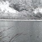 海津:新雪 ふわふわ
